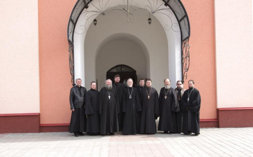Собрание духовенства Песоченского благочиния в городе Кирове