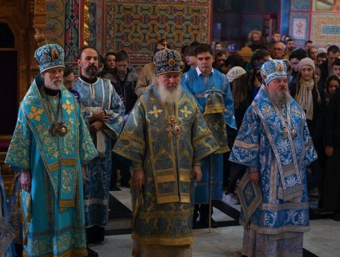 В Калужской епархии прошло празднование «Калужской» иконе Пресвятой Богородицы